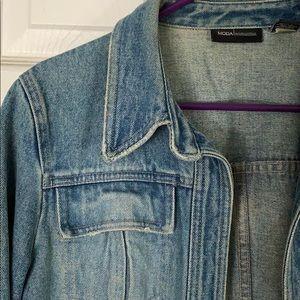 MODA INTERNATIONAL jean jacket, medium